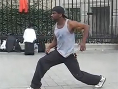 ������������ ������� ������ - Amazing street dancer